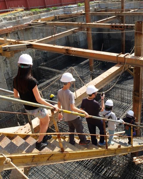盧守正 - 瑞柏盛大樓 地樑與基礎工程