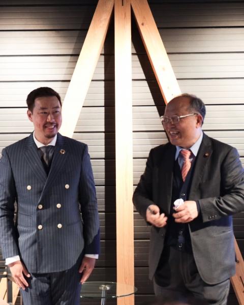 台灣健康永續建築未來發展趨勢領袖會談