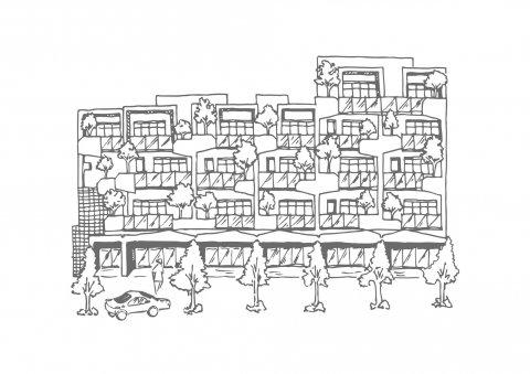 開富力建設烏日高鐵特區推電梯別墅 - 中時
